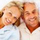 Lächelndes älteres Paar